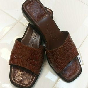 Cole Haan beautiful sandals made in Italy six and